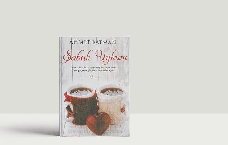 Ahmet Batman Sabah Uykum Kitap Kapağı