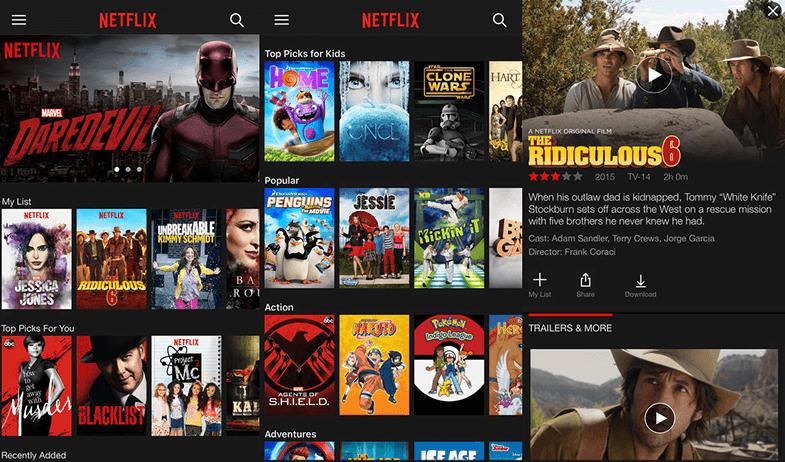 Netflix iPhone Uygulaması