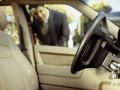 kilitli araba kapısı