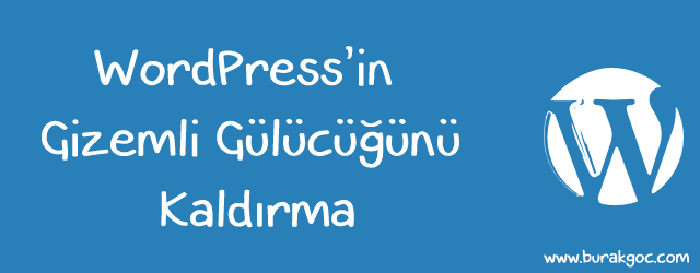 Wordpress smiley kaldırma