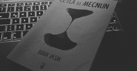 Burak Aksak leyla ile mecnun kitap kapağı