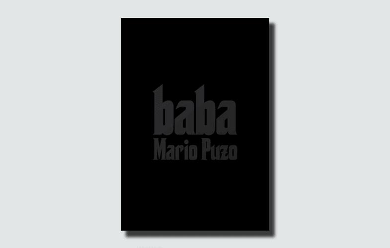 Mario Puzo Baba Kitap kapağı