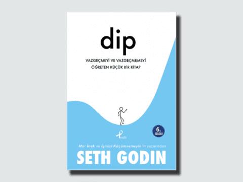 Seth Godin Dip Kitap Kapağı