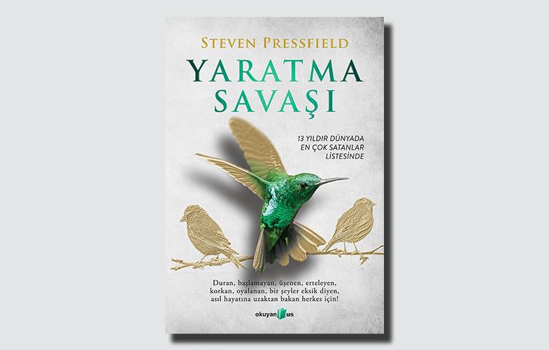 Yaratma savaşı kitap kapağı